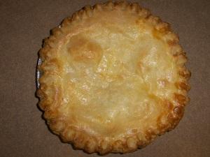 Ricotta Polenta Pie