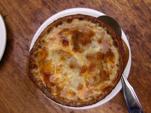 French Onion Soup Au Gratin