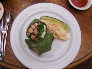 Chicken Wrap - Karla's New Hope