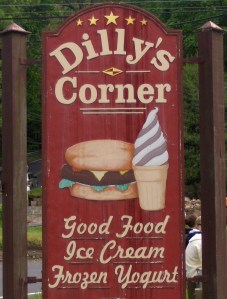 Dilly's Narrow Sign