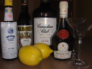 Preakness Cocktail Ingredients
