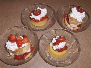 Strawberry Shortcakes - 4 ways