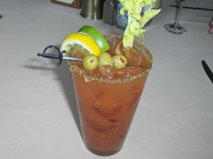 Bloody Mary at Logan Inn in New Hope, PA