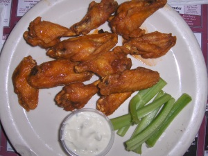 Chicken Wings at the Wyck