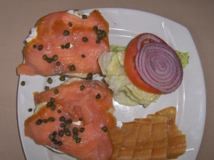 Smoked Salmon and Smoked Trout at the Logan Inn