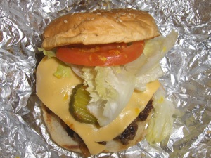 Five Guys Little Cheeseburger