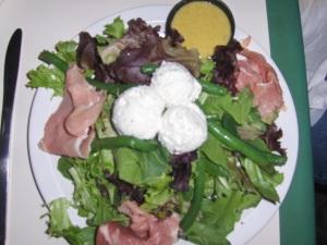 Prosciutto & Goat Cheese Salad - Havana's New Hope PA