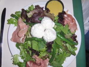 Prosciutto & Goat Cheese Salad - Havana's New Hope PA