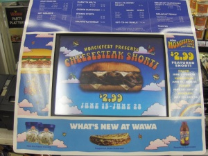Hoagiefest Point of Sale Themed Touchscreen ordering device
