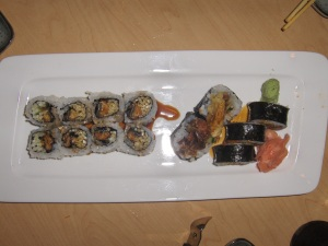 Sushi Rolls - Eel and Spider