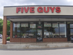 Five Guys - Doylestown PA