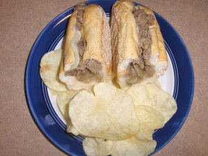 Cheesesteak Shorti at Wawa