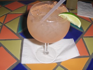 Watermelon Margarita at Poco's
