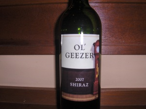 Old Geezer Wine