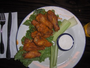 Hard Rock Cafe Chicken Wings