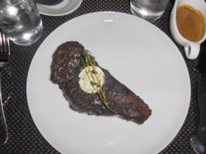NY Strip steak at BLT Prime