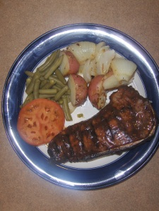 Grilled Omaha Strip Loin Steak