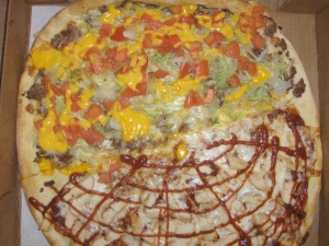 Taco - BBQ Chicken Pizza from Spatola's