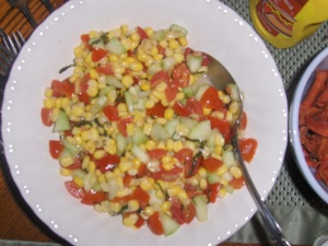 Julie's Chopped Veggie Salad