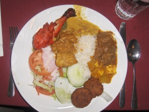 Buffet Plate at Spice In