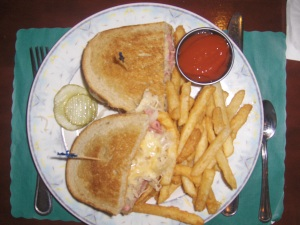 Reuben Sandwich at Bowman's Tavern