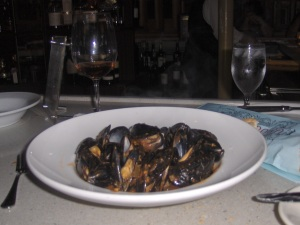 Mussels at Marsha Brown