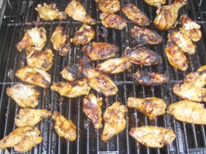 BBQ Wings at the 'Cue for the Cure