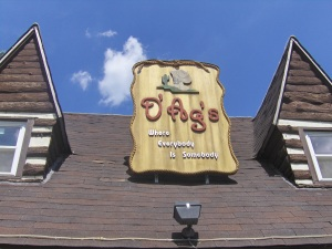 D'Ag's Bar Sign
