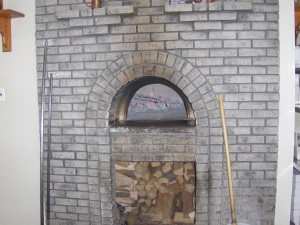 Luberto's Wood Burning Pizza Oven