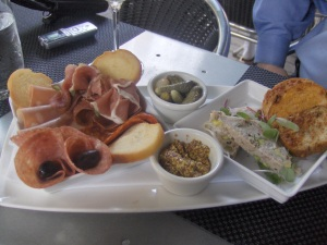 Charcuterie at Mediterra