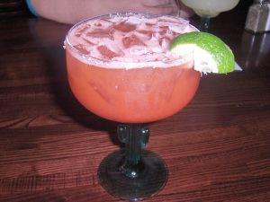Stawberry Margarita at The Other Side