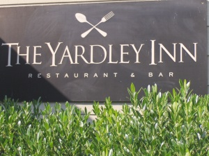 Yardley Inn sign