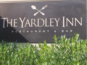 Yardley Inn sign