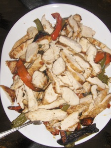 Grilled Chicken and Peppers
