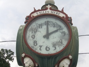 Eagles Mere Town Clock