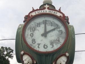 Eagles Mere Town Clock