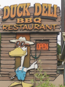 Duck Deli Sign