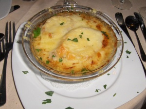 French Onion Soup at Centerbridge Inn