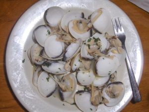 Steamers at Cafe Europa in New Hope, PA
