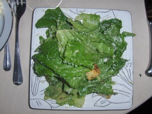 Caesar Salad at Centerbridge Inn