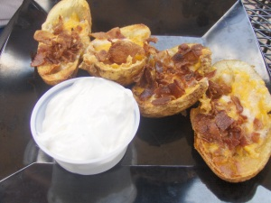 Potato Skins at Clubhouse B&G in Newtown PA
