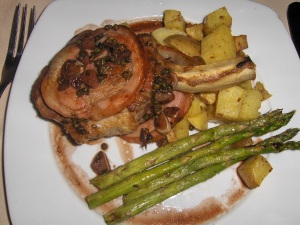 Grilled Pork Chops at Centerbridge Inn
