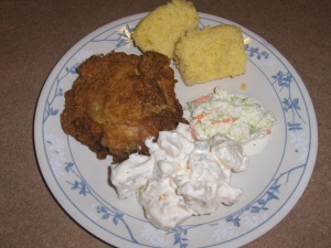 Gross' Gourmet Foods' Fried Chicken and Fix'ems