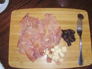 Prosciutto di San Daniele with Parmigiano-Reggiano